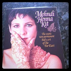 Henna Temporary Tattoo kit